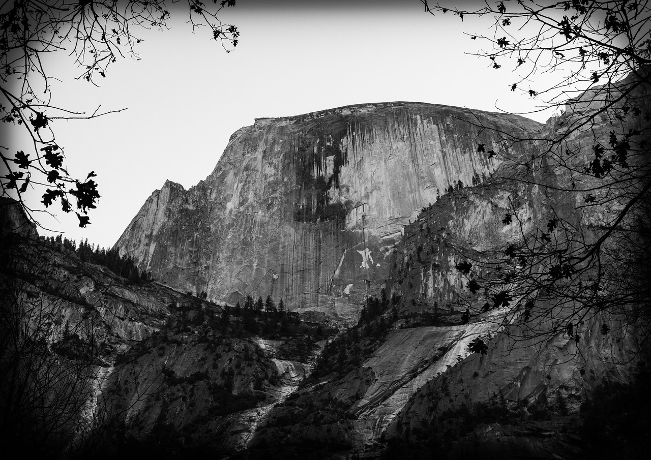 M - Half Dome from Mirror Lake-1