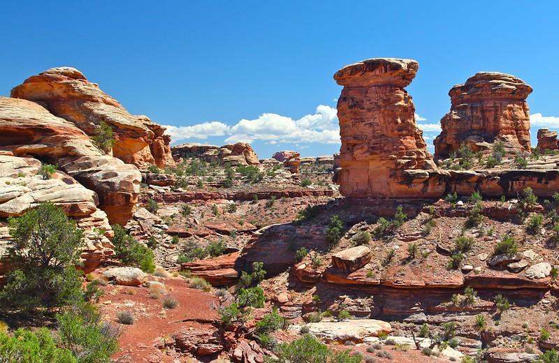 B -  Canyonlands NP