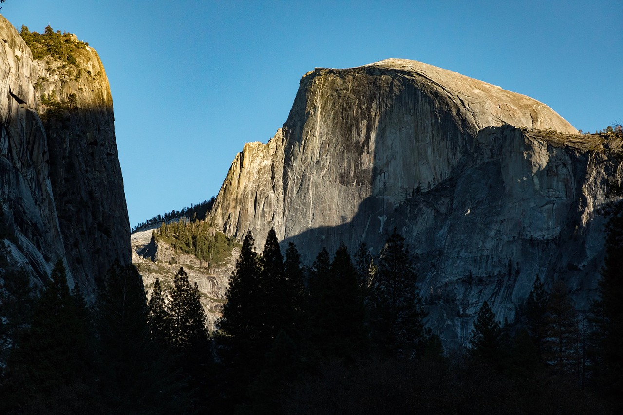 M -  Half Dome in Footsteps of Ansel Adams