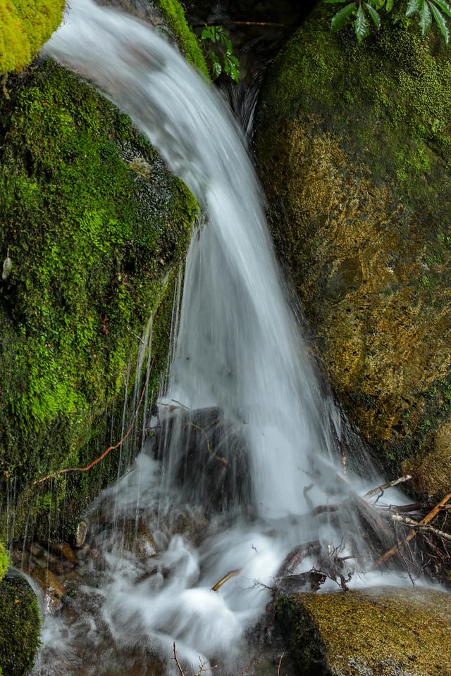 M - a favorite waterfall slowed down NZ