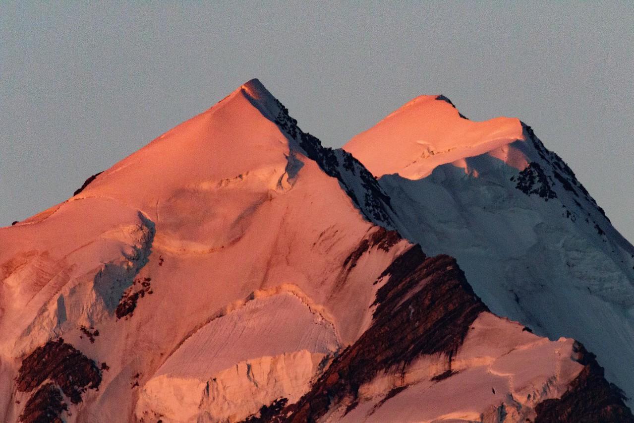 M - Icy Pinnacle of Mt. Cook, NZ