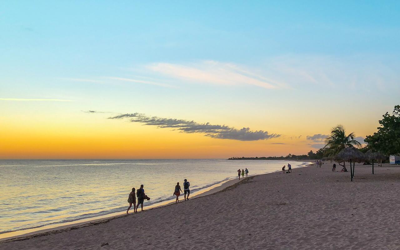 J - Beach in Trinidad, Cuba