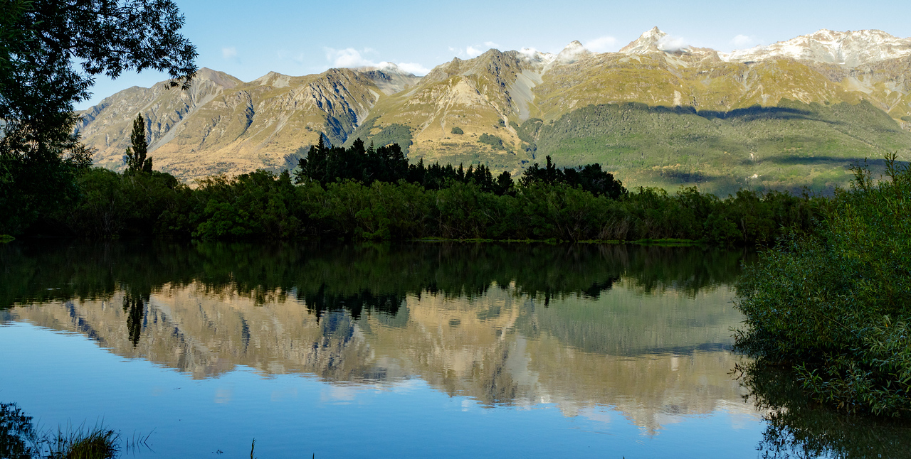 M - One of countless reflections NZ