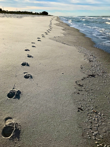 I - Joy's Footsteps at Longboat Key