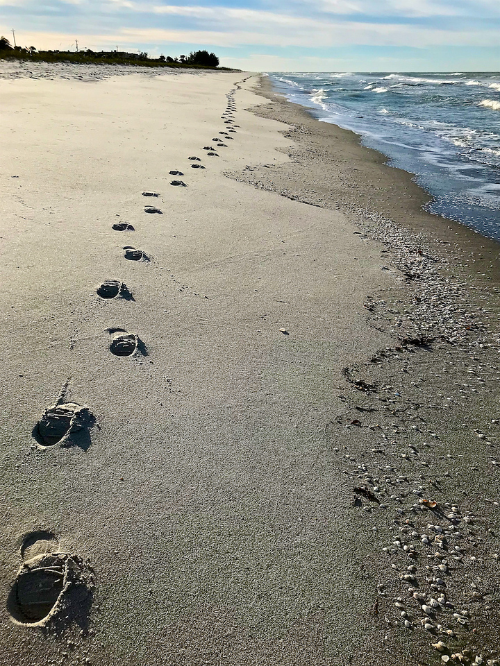 I - Joy's Footsteps at Longboat Key