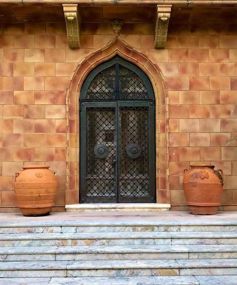 I - Front door at Ca' d'Zan (Ringling's Winter Residence)