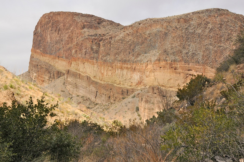 W - Volcano Layer at Big Bend
