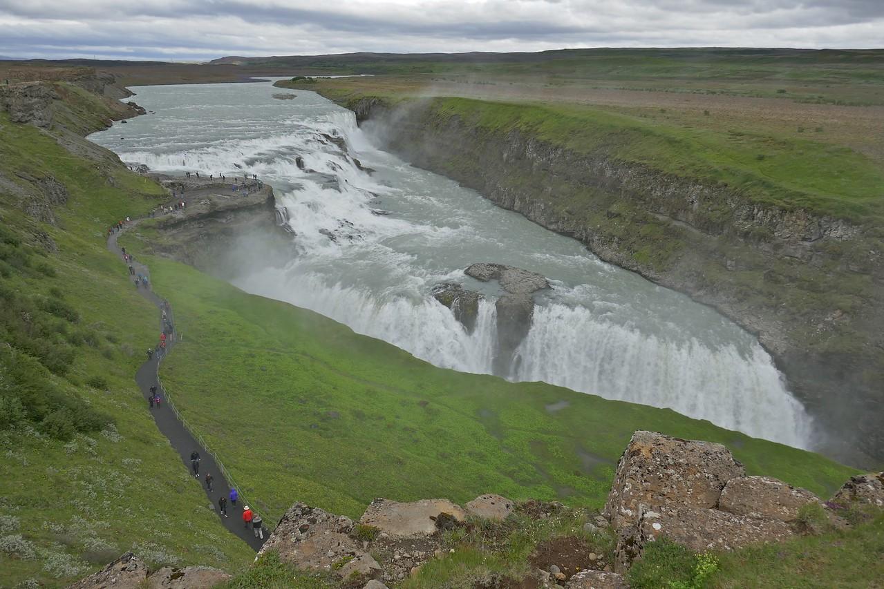 W - 12 Iconic Gullfoss falls