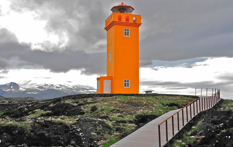 W - 09 Lighthouse on western coast