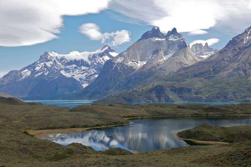 W - Tetonesque view Torres del Paine