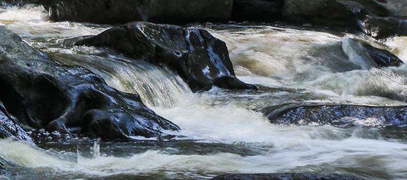 M - Rock Creek Waterfall Detail