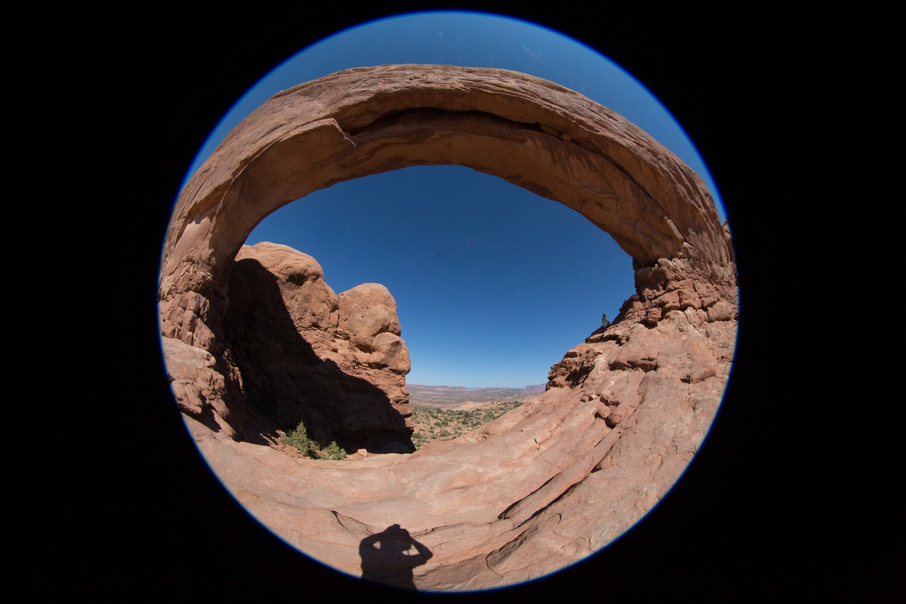 M -  Skyline Arch in Arches NP