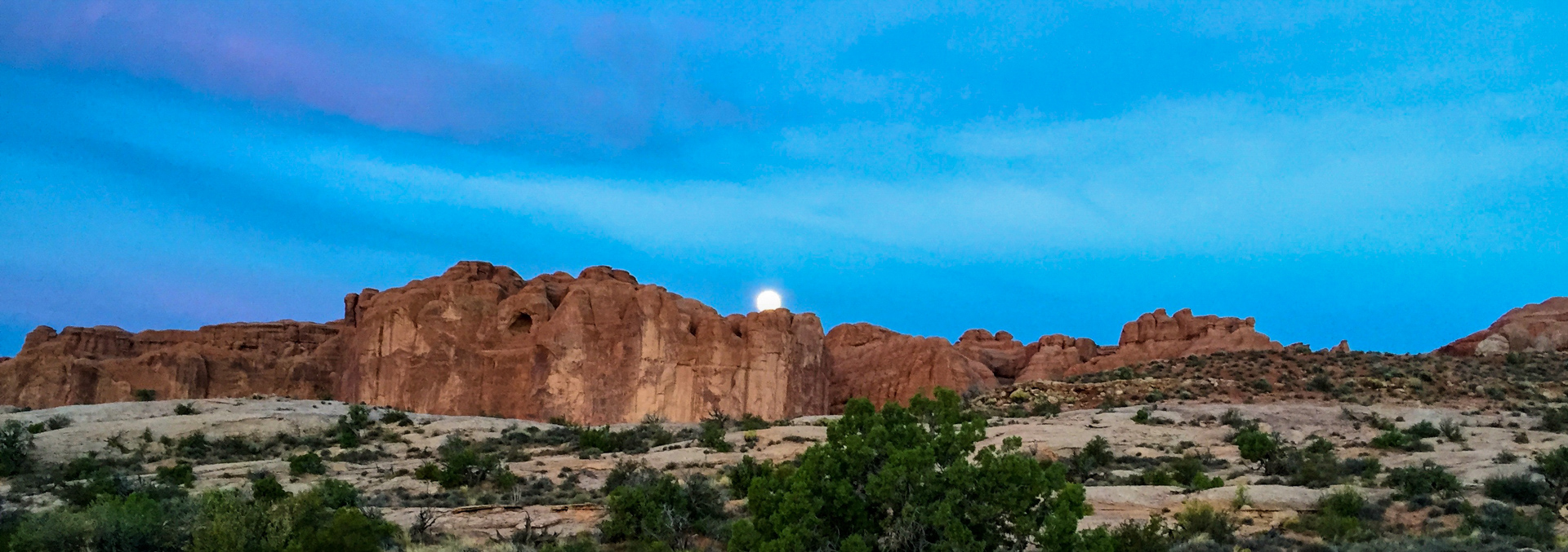 J - Moonset at Arches