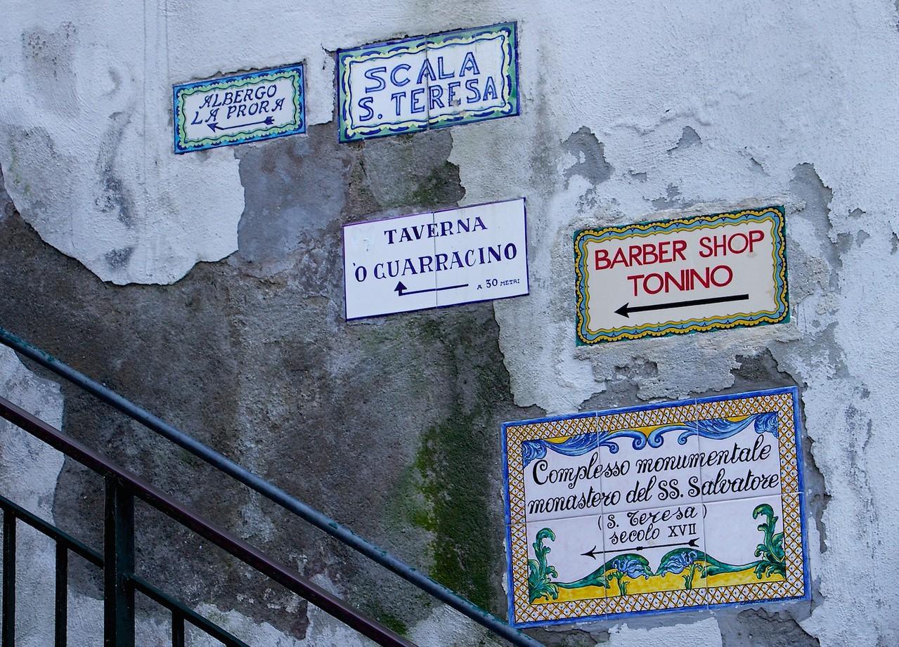 I - Capri stairway