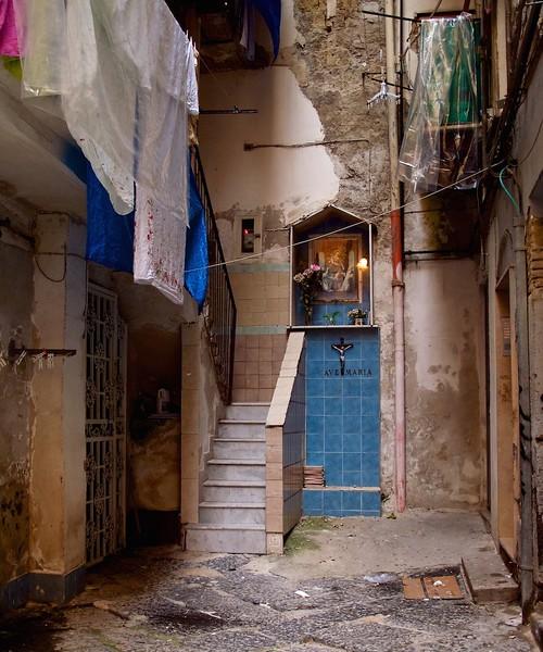 I - Naples alley