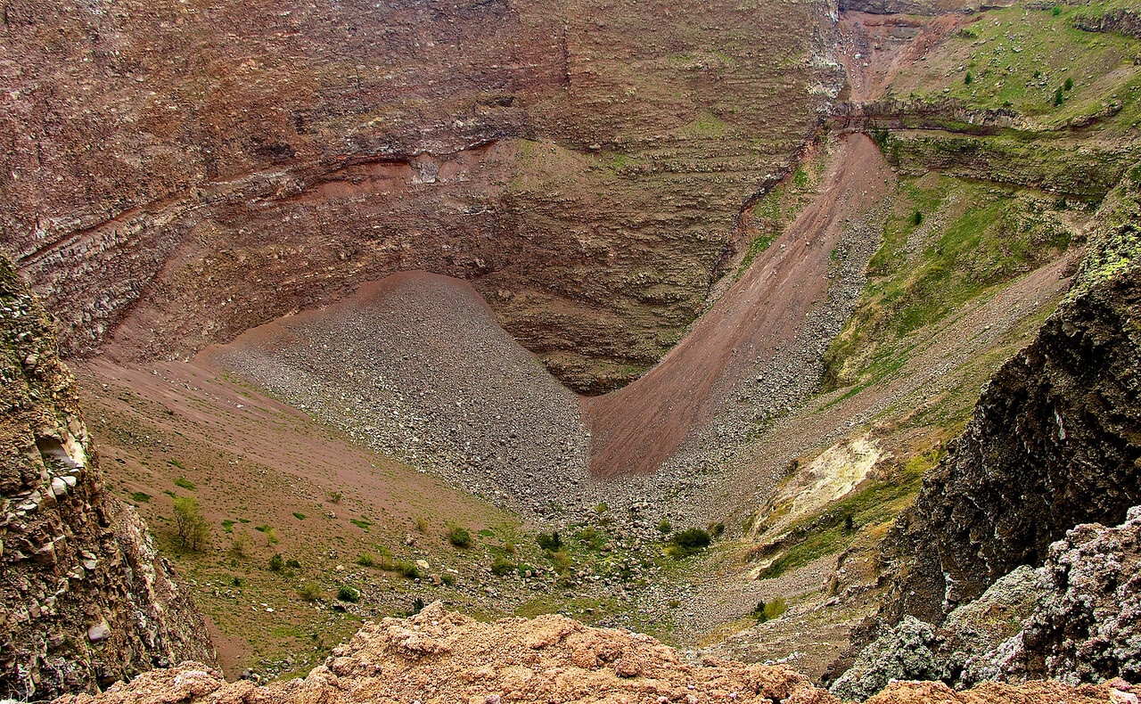 I - Mt. Vesuvius Crater