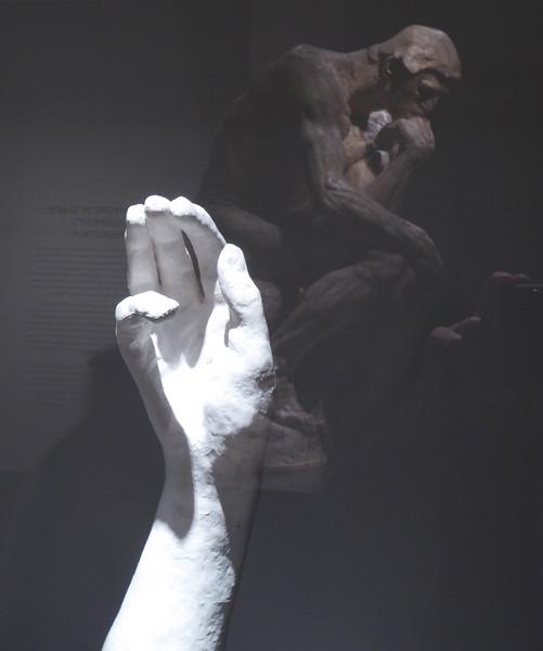 W - Hand by Rodin, Richmond Mus. Fine Arts