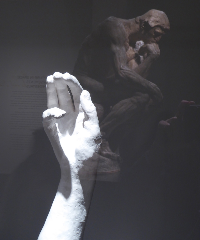 W - Hand by Rodin, Richmond Mus. Fine Arts
