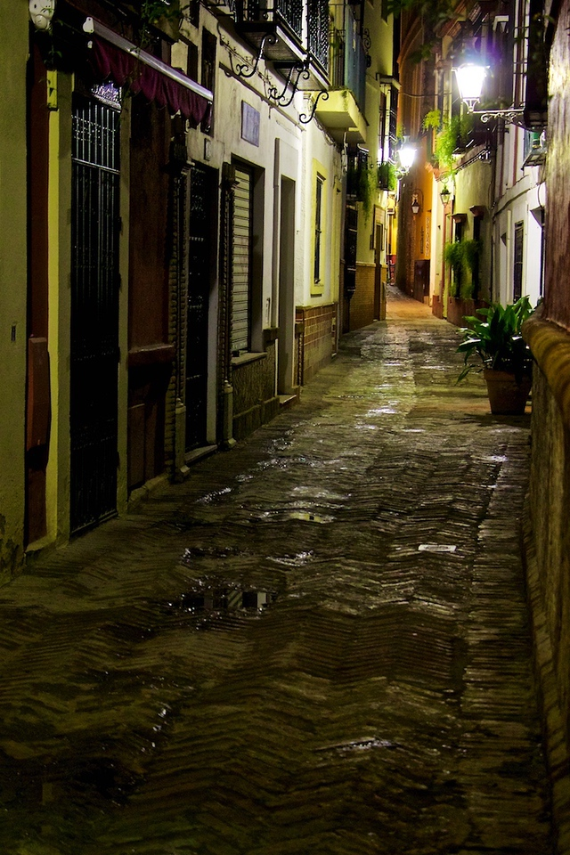 I - Seville back alley - Version 2