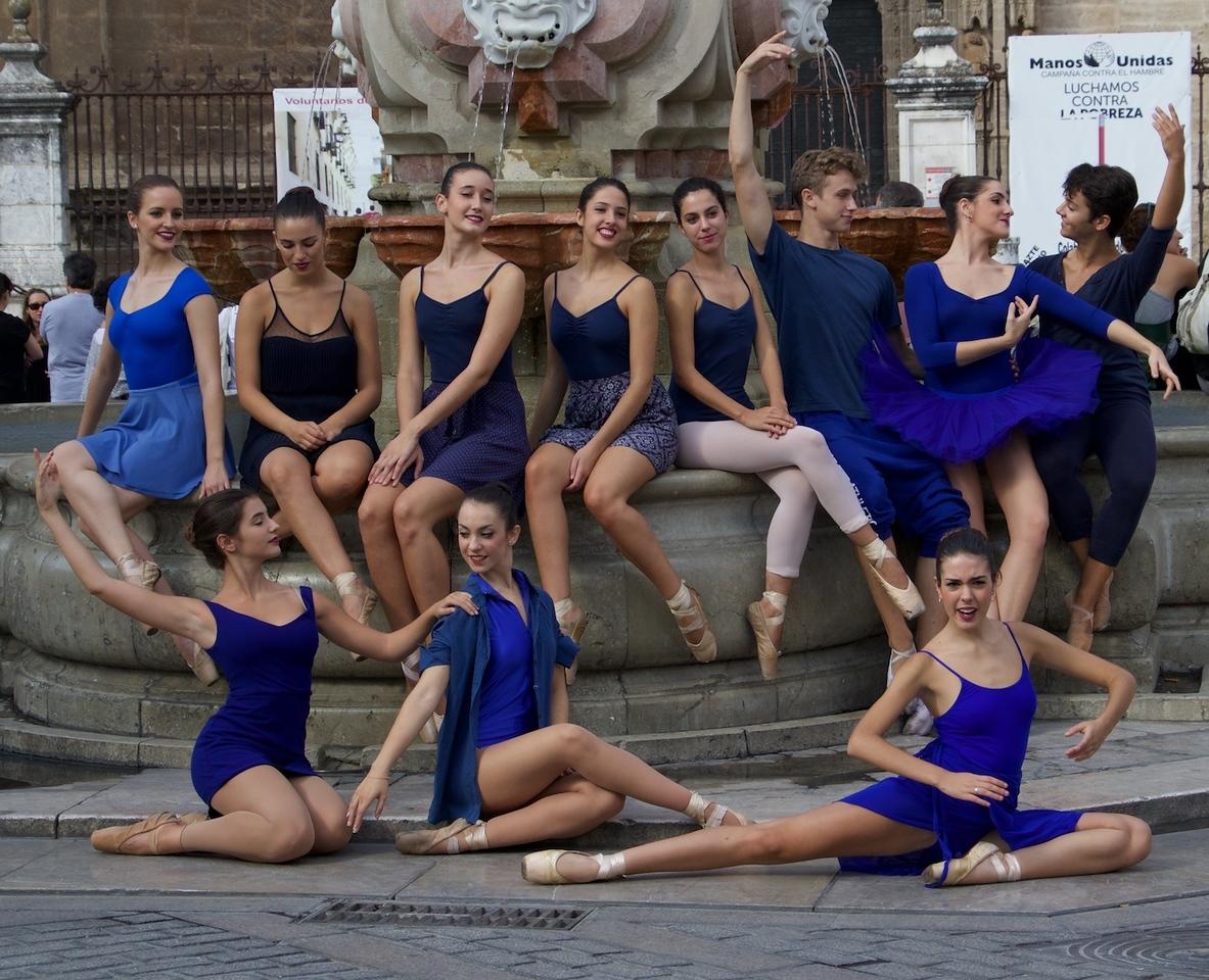 I - Seville ballet troupe