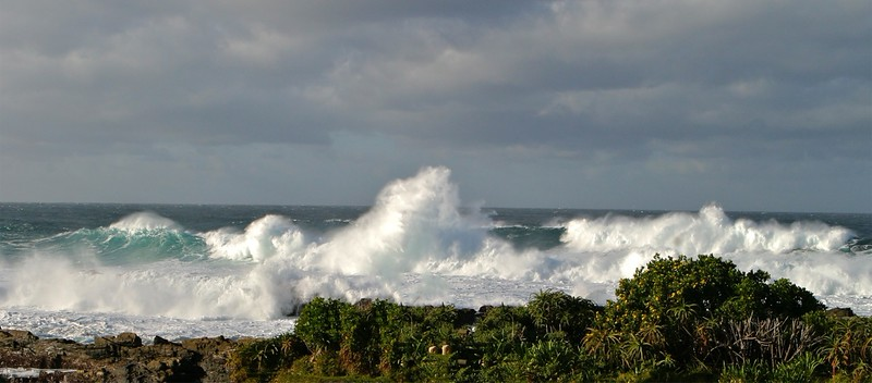 B - Tsitsikamma waves, S.A