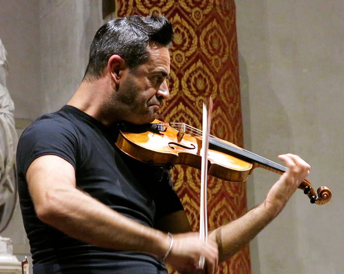 J - Venetian violinist