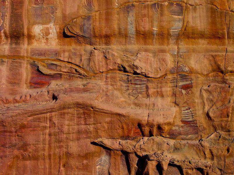 I - Petra-Siq wall
