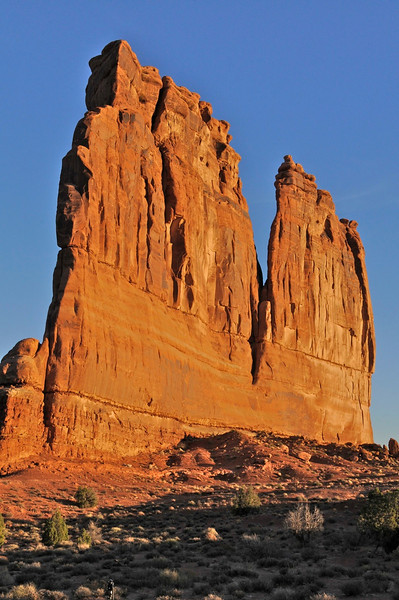 W - Courthouse Towerss, Arches NP, UT