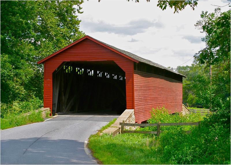 B - Utica covered bridge