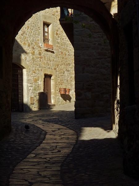 I - Pals--winding alleyway