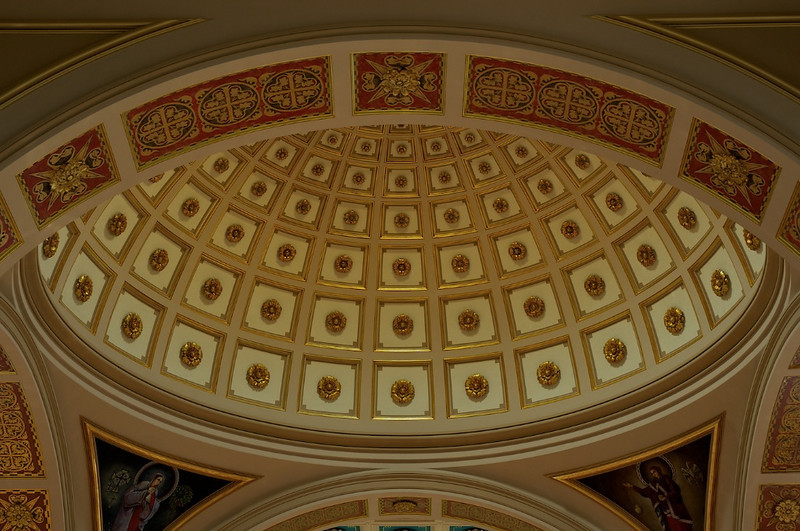 I - Franciscan Monastery Ceiling