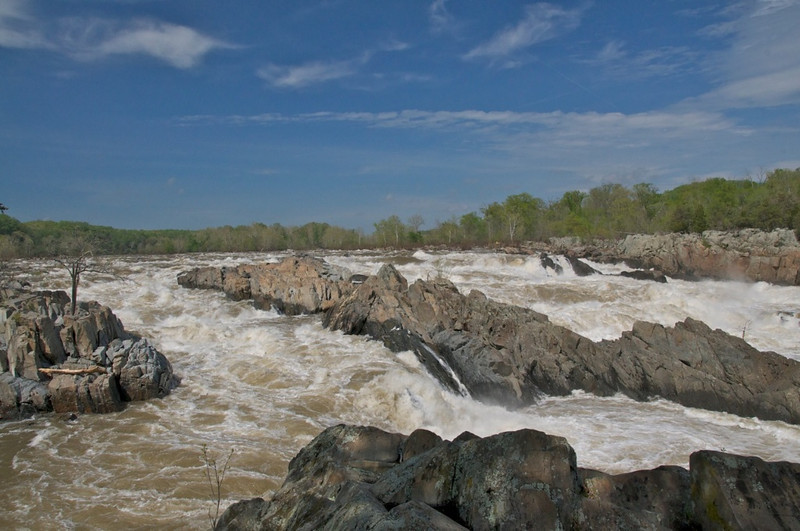 W - Great Falls from Virginia Side