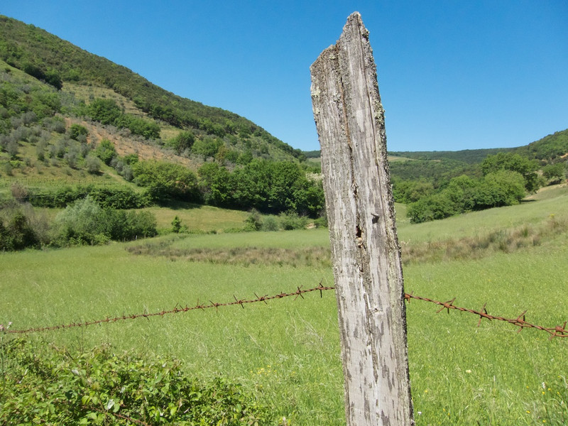 M - Fence Post on Sant' Antimo Hike
