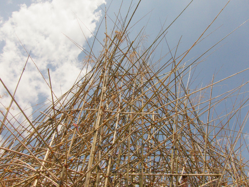 M-'Big Bambu' at Metropolitan Museum of Art