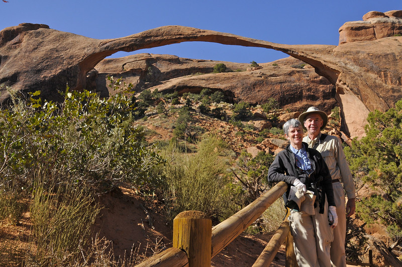 W -  Landscape Arch, Arches NP