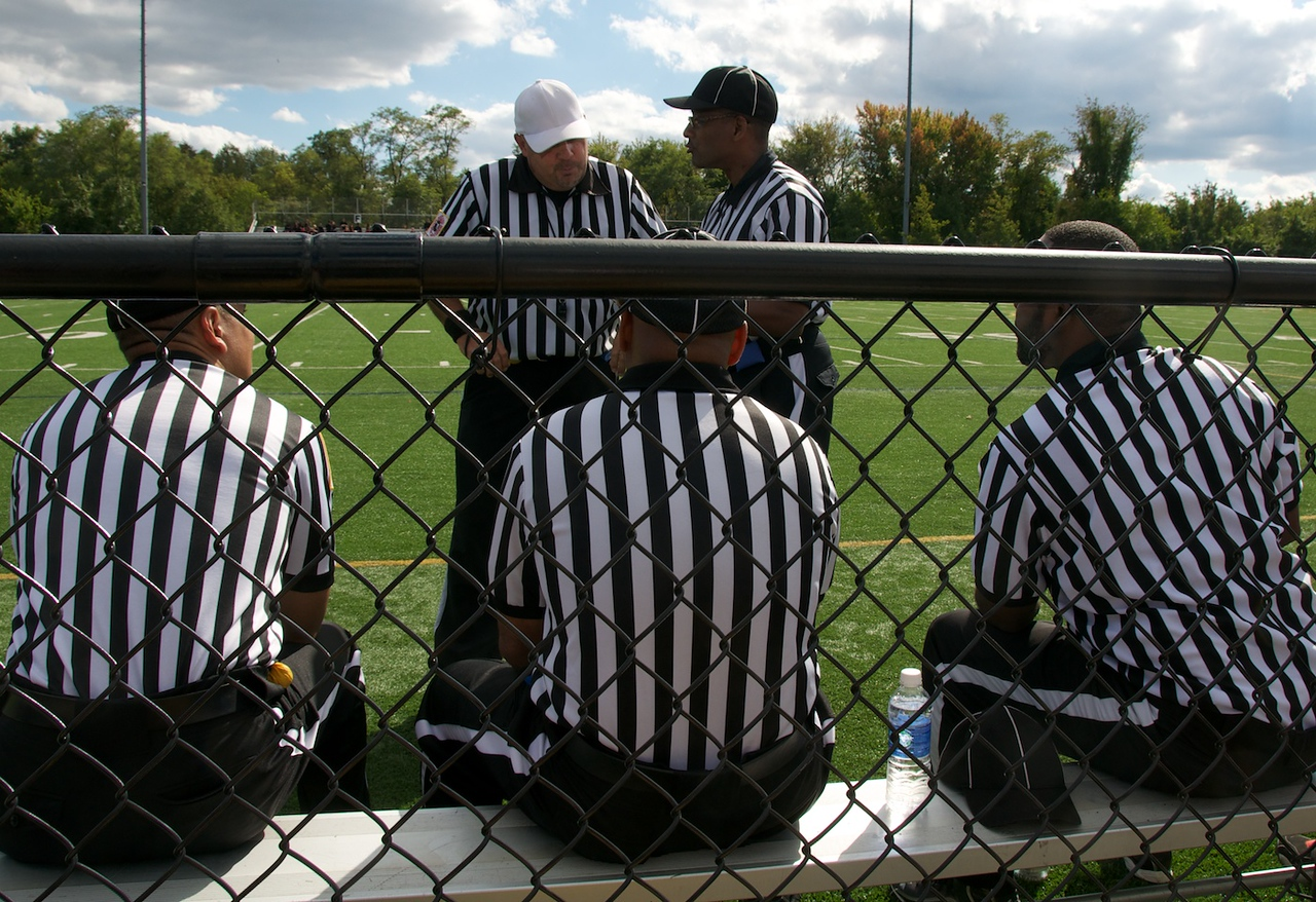 I - Referees in conference