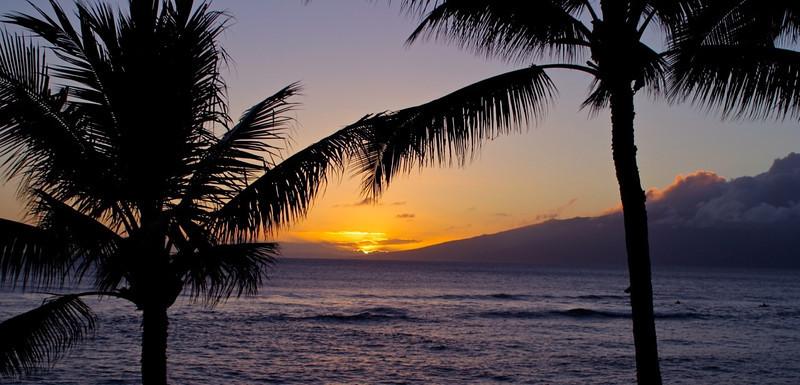 B - Maui Sunset