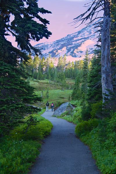 J - Morning Walk at Rainier