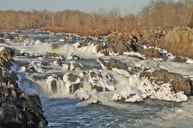 Great Falls in January