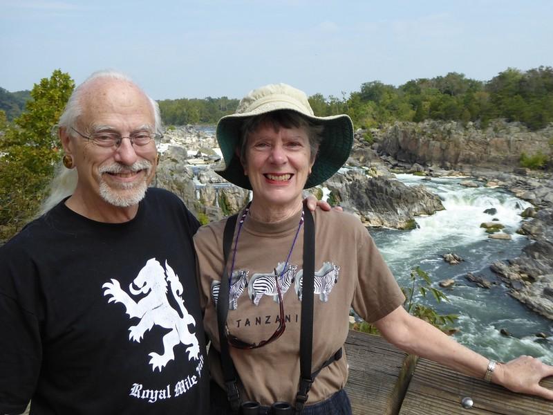 W - Frank Ward & Diane at Great Falls