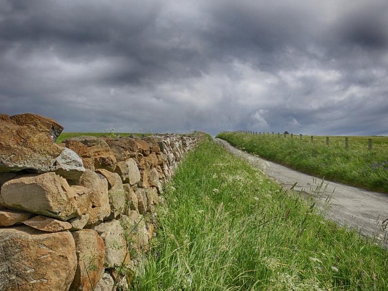 J - Road at Waternish