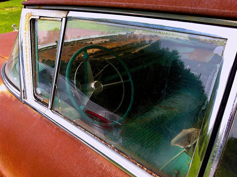 I - Rusty car II-Riner, Virginia