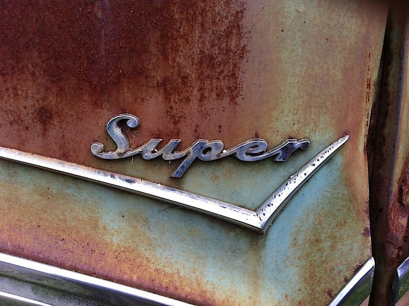 I - Rusty car, Riner, Virginia