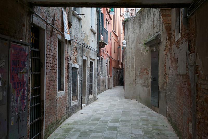 M - A Venetian street