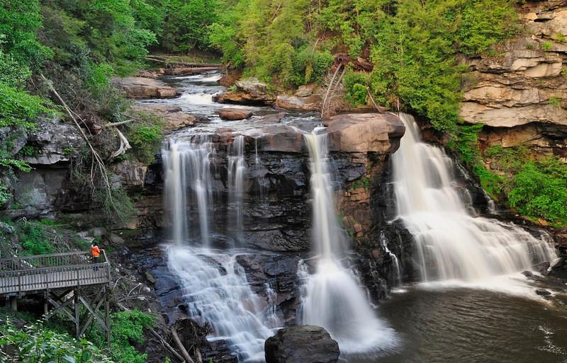 W - Blackwater Falls, West VA