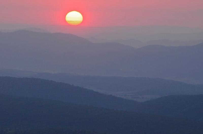 W - Sunrise at Dolly Sods, West VA