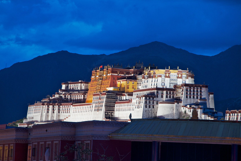 M-Potala at Dusk- Lhasa