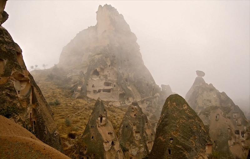 I-Rock houses, Uchisar, Cappadocia