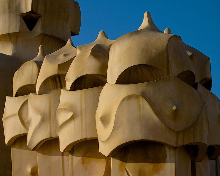 I - Chimneys at Casa Mila II