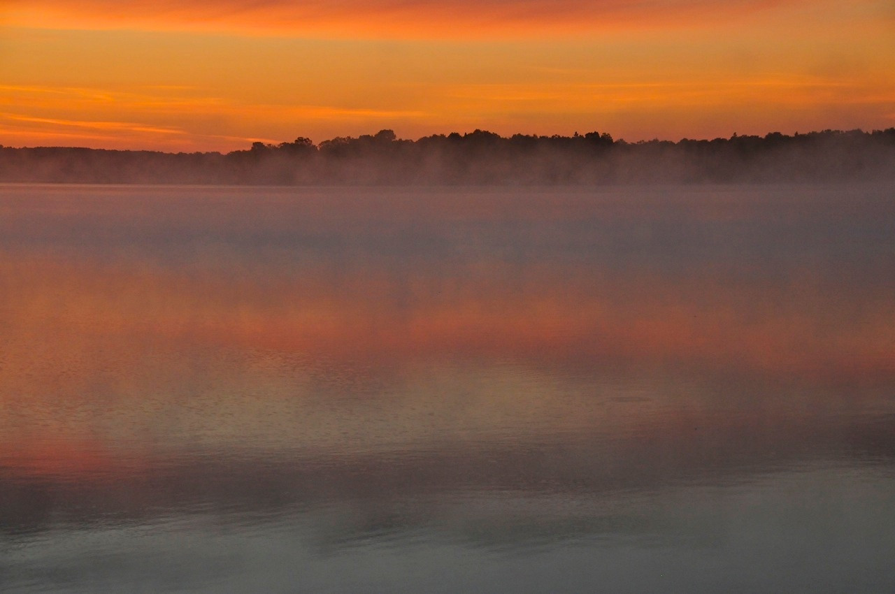 W - Big Sandy Lake, MN sunrise